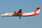 Photo of Air Berlin De Havilland Canada DHC-8-402Q Dash 8 D-ABQC (cn 4231) at London Stansted Airport (STN) on 21st June 2010