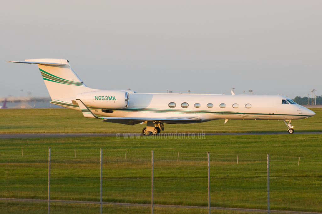 Photo of Untitled (Iris Acquisitions LLC) Gulfstream Aerospace Gulfstream G550 SP N653MK (cn 5211) at London Stansted Airport (STN) on 21st June 2010