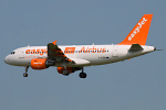 Photo of easyJet Airbus A319-111 G-EZBR (cn 3088) at London Stansted Airport (STN) on 26th June 2010
